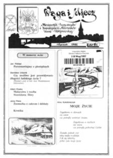 Waga i Miecz : miesięcznik Samorządu i Towarzystwa Miłośników Ziemi Strzyżowskiej. 1992, [R. 2], nr 1 (styczeń)