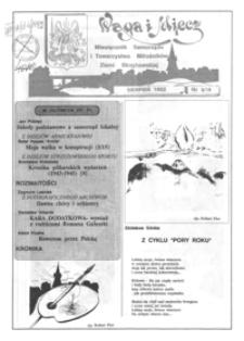 Waga i Miecz : miesięcznik Samorządu i Towarzystwa Miłośników Ziemi Strzyżowskiej. 1992, [R. 2], nr 8 (sierpień)