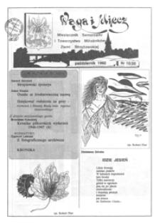 Waga i Miecz : miesięcznik Samorządu i Towarzystwa Miłośników Ziemi Strzyżowskiej. 1992, [R. 2], nr 10 (październik)