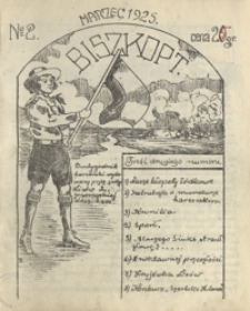 """Biszkopt : dwutygodnik harcerski wydawany przez zastęp """"Lisów"""" II przemyskiej druz. harc. 1925, nr 2 (marzec)"""