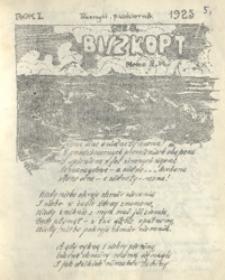 Biszkopt : pismo 2 Pl. 1925, R. 1, [nr 5] (październik)